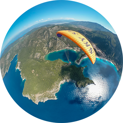 Things You Should Know About Travel Insurance: Paragliding over Oludeniz, Turkey