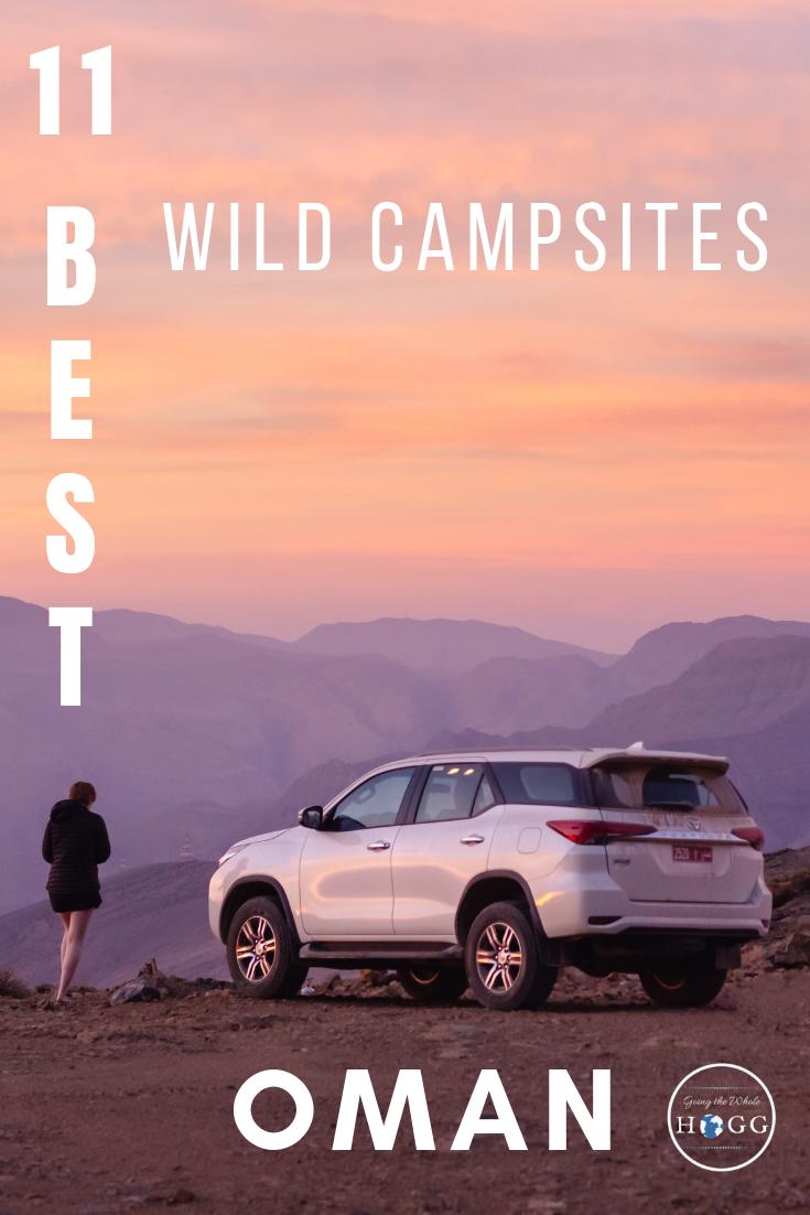 11 Best Wild Campsites in Oman