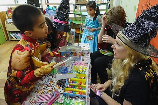Teaching English in Korea: Work, Travel & Save - Halloween Party at Kindergarten
