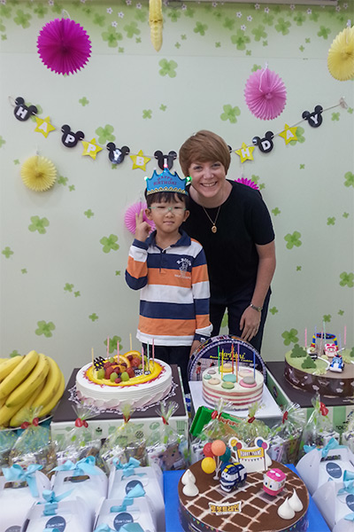 Teaching English in Korea: Work, Travel & Save - Kindergarten Birthday Party