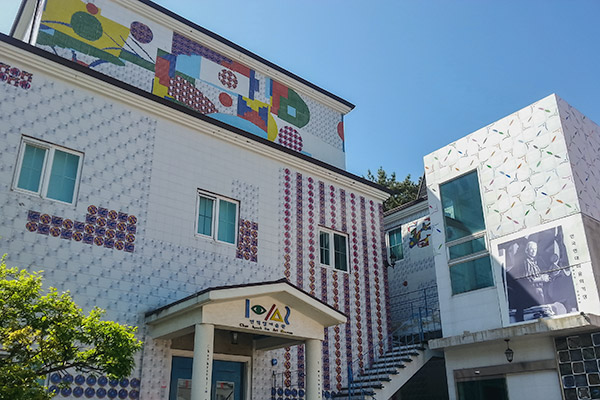 The colourful and quirky Jeon Hyeok Lim Art Museum in Tongyeong