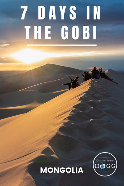 7 Days In The Gobi