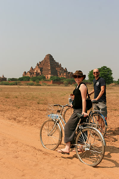 About Going the Whole Hogg: Cycling around Bagan, Myanmar