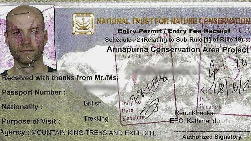 Annapurna Conservation Area Project Permit (ACAP)