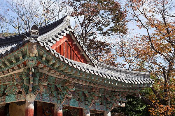 Teaching English in Korea - Beomeosa Temple, Busan