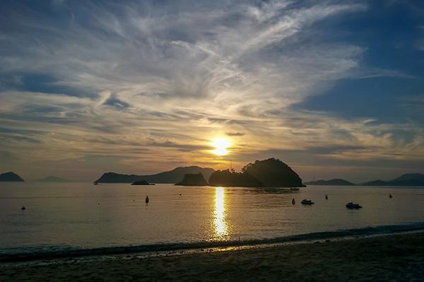 Bijindo Island Sunset, Korea