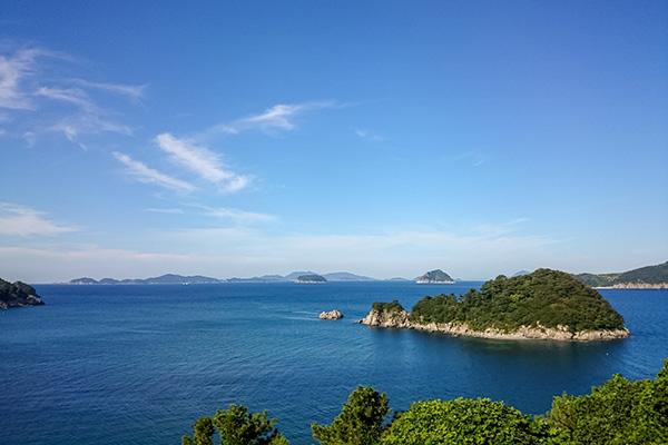 Bijindo Island Views, South Korea
