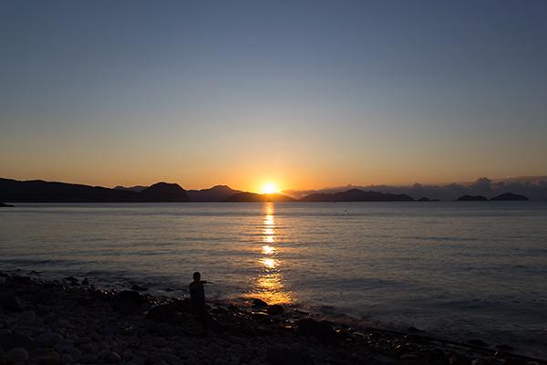 Bijindo Island Sunrise, Korea