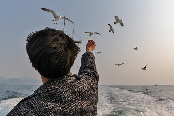 Bijindo Island to Tongyeong Ferry, Korea