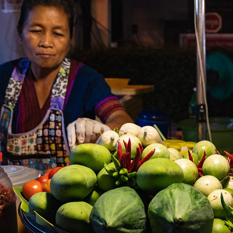San Kamphaeng Saturday Market, Chiang mai, Thailand