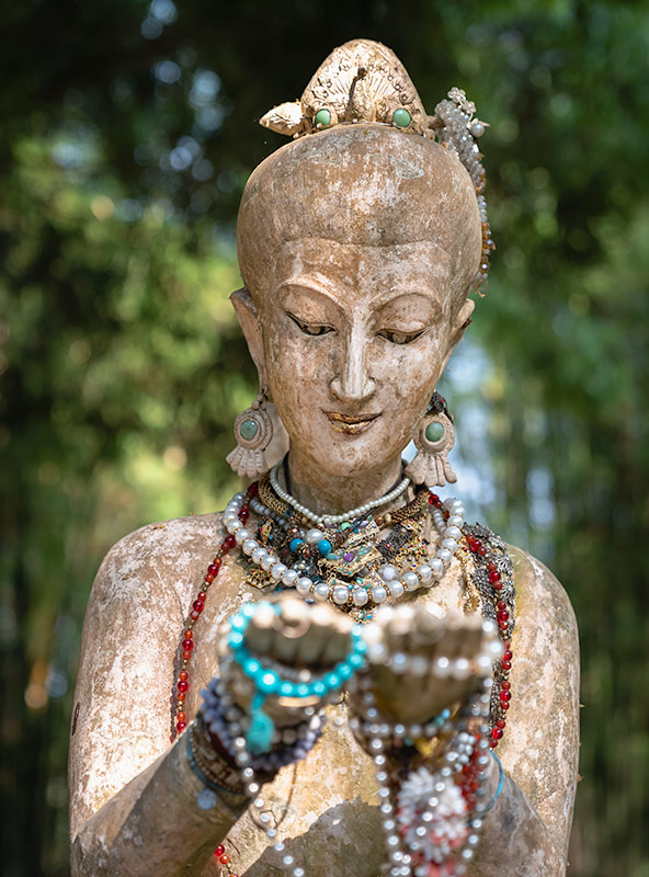 Sculpture at Wat Pha Lat on Doi Suthep mountain in Chiang Mai, Thailand