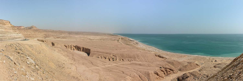 The long pale dry coast north of Salalah