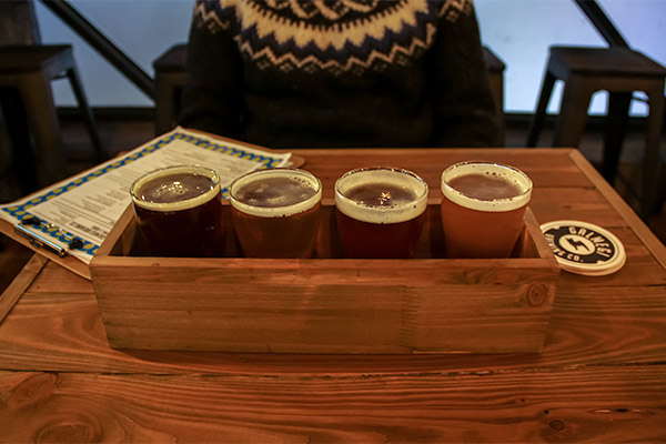 Busan City Guide: Beer flight at Galmegi Taphouse, Haeundae Beach