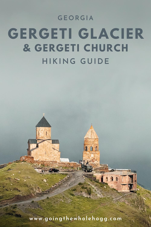 Hiking To Gergeti Glacier And Gergeti Trinity Church From Kazbegi