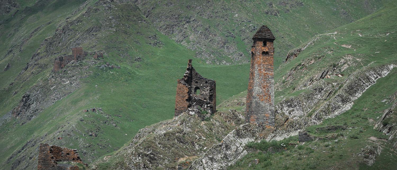 Girevi Tower Shatili Omalo Trek Georgia