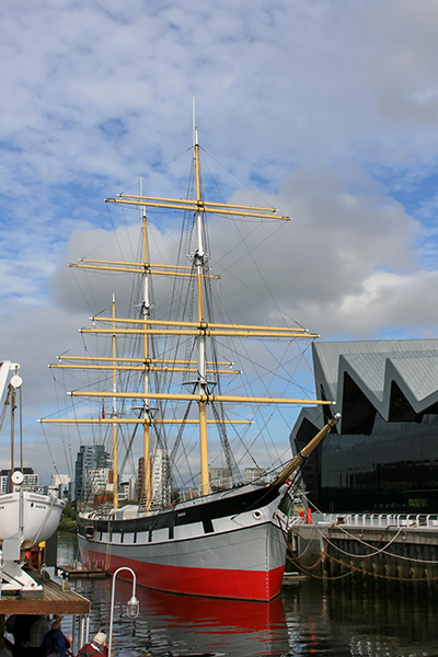 Ultimate Glasgow Guide: The Tall Ship and Riverside Museum, Glasgow
