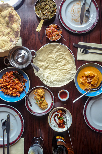 Ultimate Glasgow Guide: Food served tapas style at Mother India's Cafe, Glasgow