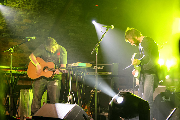 Ultimate Glasgow Guide: King Creosote and The Pictish Trail performing at The Arches, Glasgow