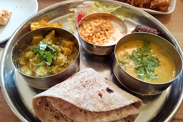 Ultimate Glasgow Guide: A traditional Panjabi thali meal, served at Ranjit's Kitchen in Glasgow