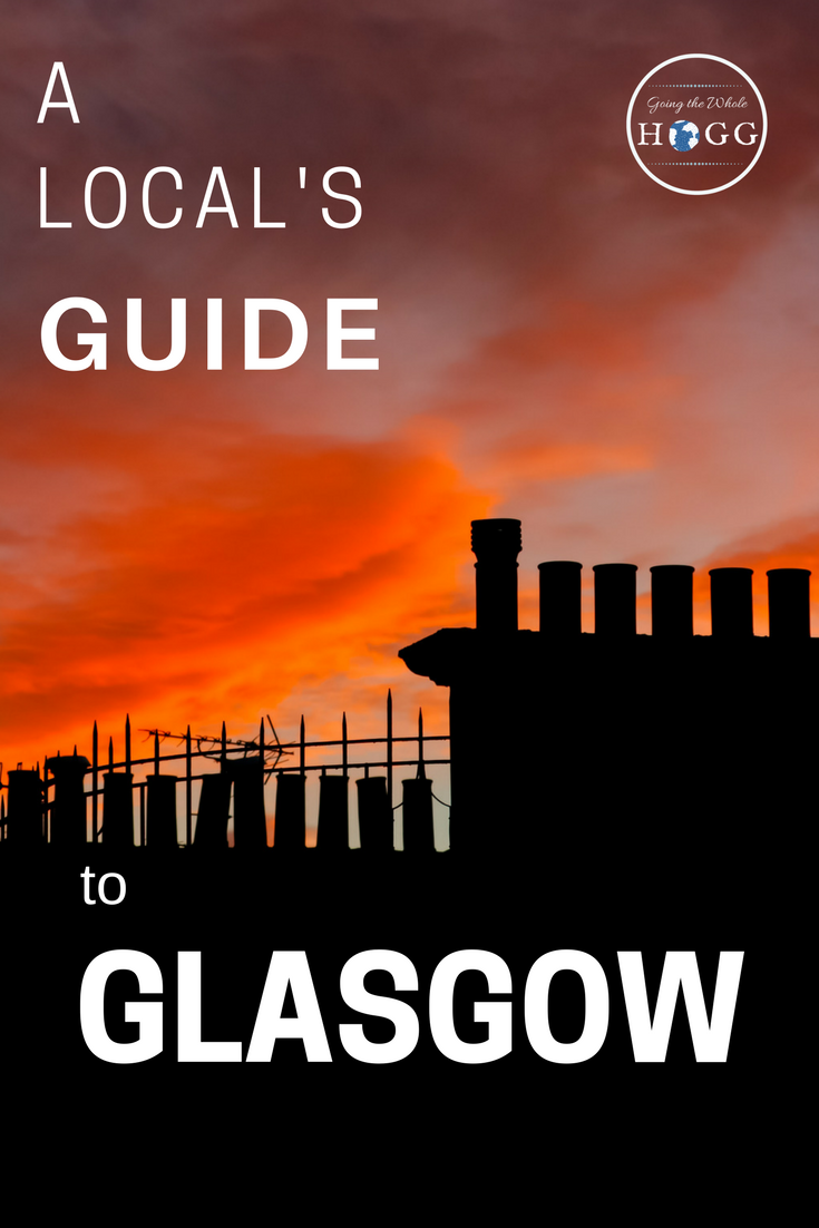 An in-depth travel guide to Glasgow, Scotland's most vibrant and exciting city. Written by a local who wants you to see, eat, drink & listen to the best that Glasgow has to offer. Includes interactive maps with walking itineraries, pub crawl routes, a guide to Glasgow's legendary music scene & the best places to eat. You won't find a more passionate or detailed Glasgow travel guide out there! | Europe | Glasgow Travel Tips | Scotland Travel #glasgow #scotland #traveltips @goingthewholehogg