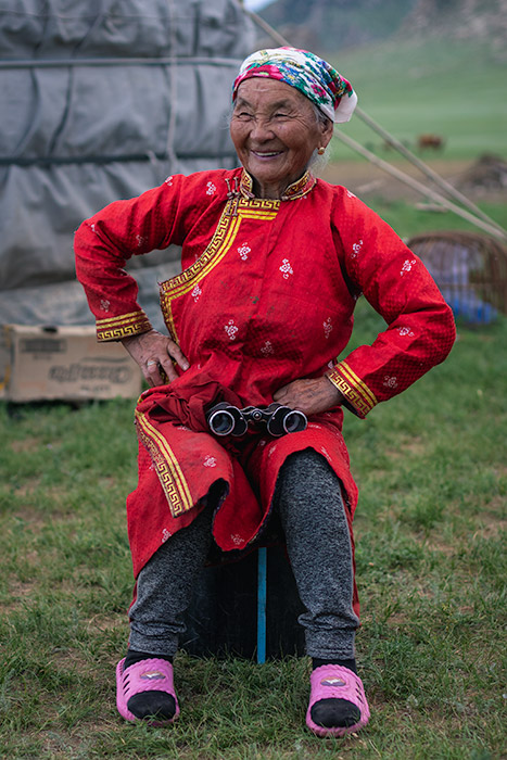 Budget Gobi Tour: The sweetest and most charming grandma you're likely to meet in Central Mongolia