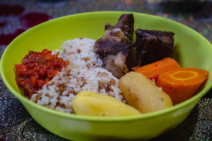 Budget Gobi Tour: A hearty Mongolian meal