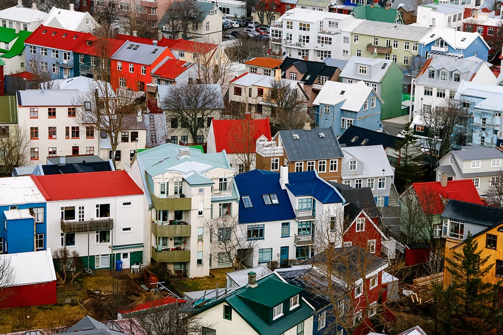 A week in Iceland - Colourful Reykjavik Houses