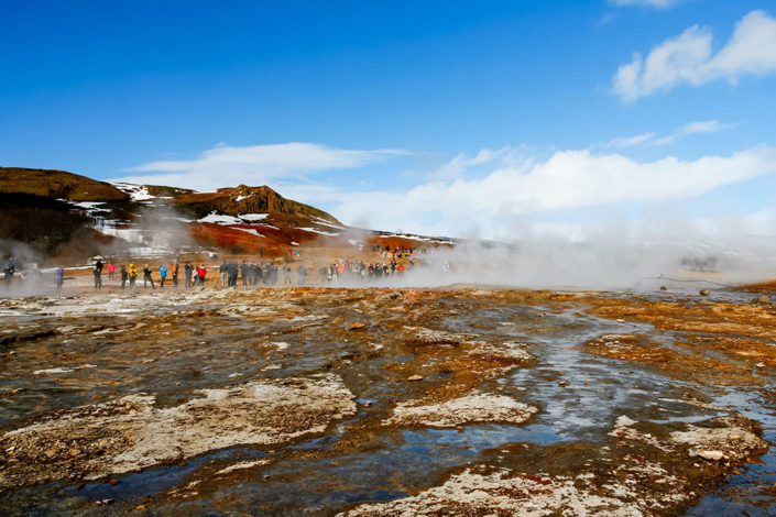 A week in Iceland - Geysir Hot Springs, Golden Circle, Iceland
