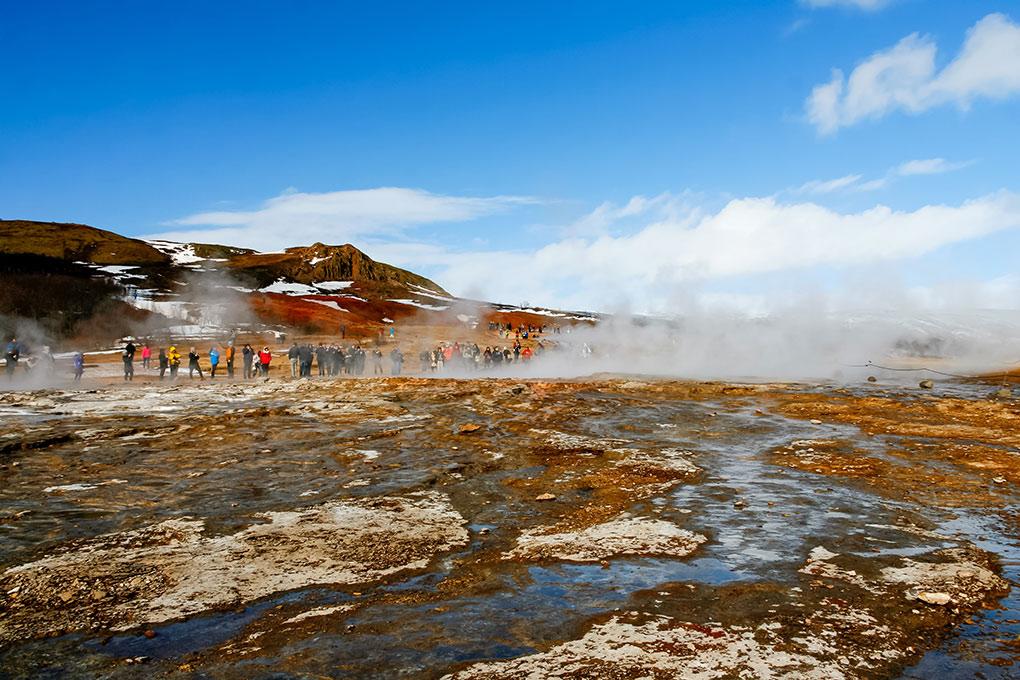 A week in Iceland - Geysir Hot Springs, Golden Circle, Iceland
