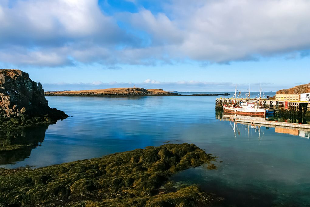 A week in Iceland - The harbour at Stykkisholmur, Iceland