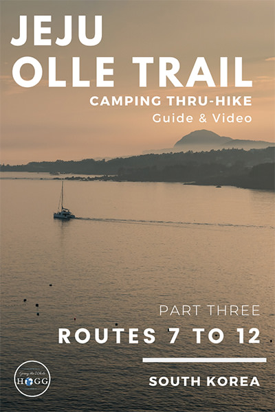 Jeju Olle Trail Part Three