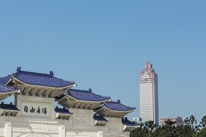 7 Best Things to do in Taipei - Chiang Kai Shek Memorial Gate