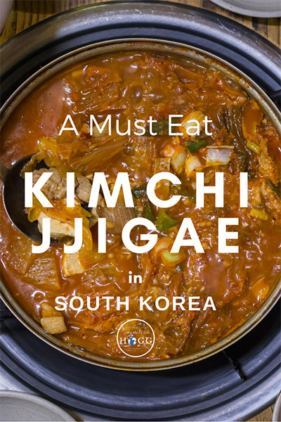 Korean Food Classic, Kimchi Jjigae. A must eat when you visit Korea! Find out what it is, where to eat it and how much it costs in this quick guide & video! | Foodie Travel Destinations | Foodie Travel Tips | Korean Food Videos | Traditional Korean Food | World food | Asian Food | Spicy Food Videos | Travel Korea | South Korea Travel Food | Must Eat Korean Food | What to Eat Korea #KoreanFood #FoodVideo #FoodieTravel via @goingthewholehogg