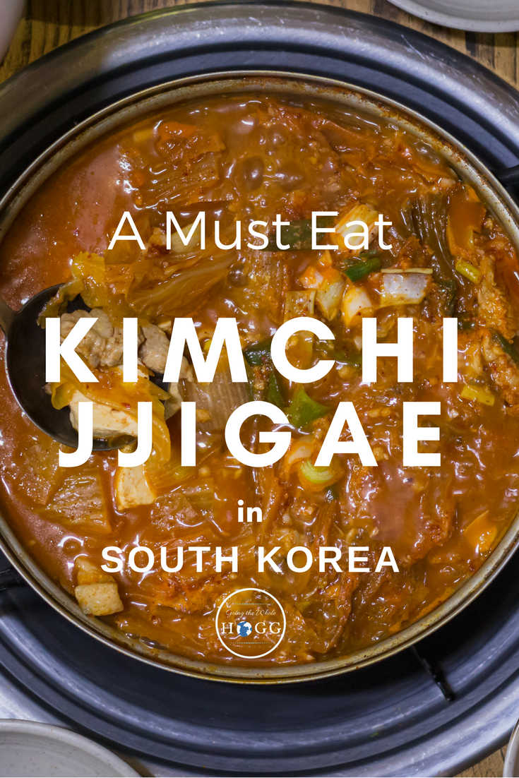 Korean Food Classic, Kimchi Jjigae. A must eat when you visit Korea! Find out what it is, where to eat it and how much it costs in this quick guide & video! | Foodie Travel Destinations | Foodie Travel Tips | Korean Food Videos | Traditional Korean Food | World food | Asian Food | Spicy Food Videos | Travel Korea | South Korea Travel Food | Must Eat Korean Food | What to Eat Korea #KoreanFood #FoodVideo #FoodieTravel