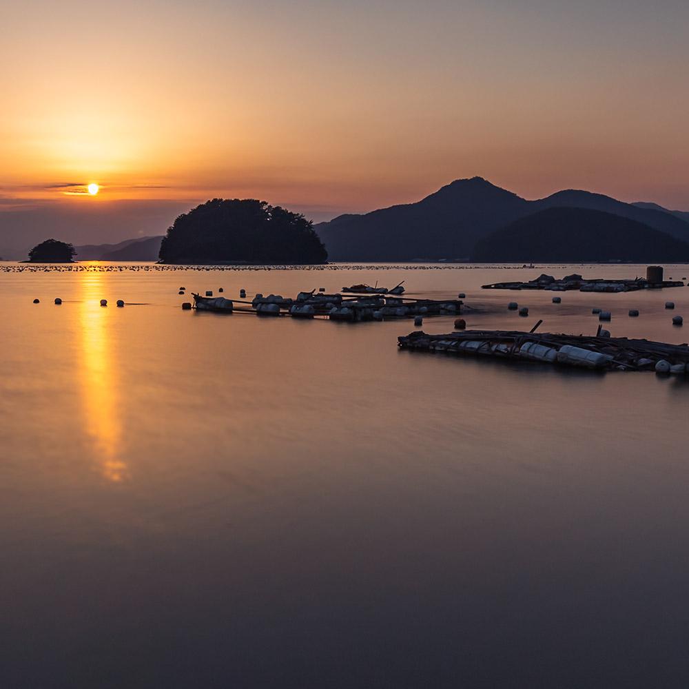 Tongyeong sunset