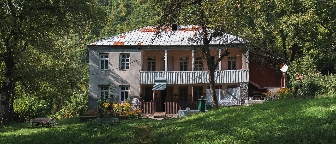 Mtis Broli Guesthouse in Chvelpi, at the end of the Ushguli to Chvelpi hike