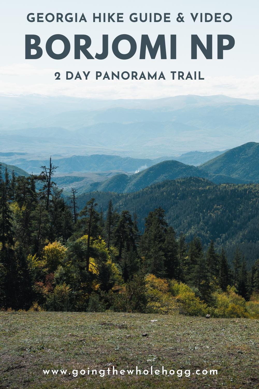 Borjomi-Kharagauli NP: Panorama Trail Hiking Guide