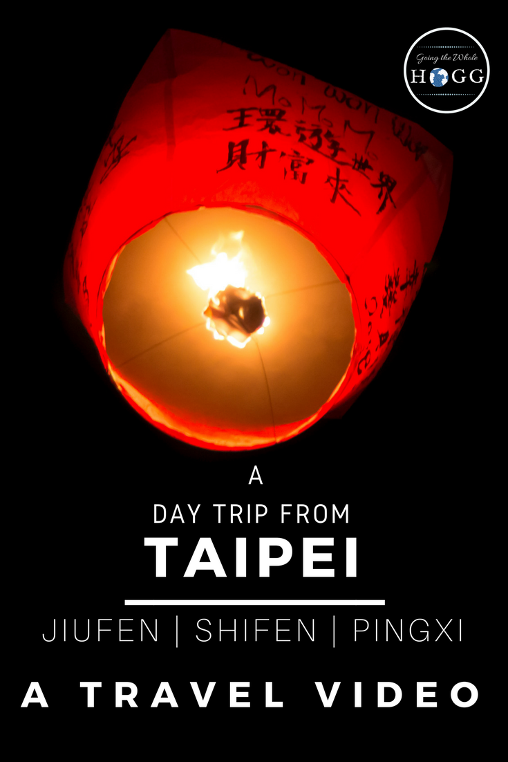 Video Guide to an Independent Day Trip From Taipei: Jiufen, Shifen & Pingxi. A complete guide, video & map for a self-organised train trip to visit three charming towns northeast of Taipei. Scenic, full of old-time character and with plenty of delicious Taiwanese street food to devour along the way, this easy day trip is ideal for those tight on time but keen to see more than just the big city. | Taiwan Travel Video | Taiwan Food | East Asia #Taiwan #Taipei via @goingthewholehogg