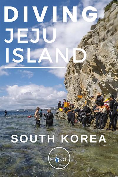 Diving Jeju Island South Korea