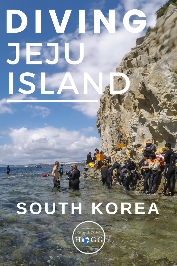 A video & guide to diving beautiful Jeju Island off the south coast of Korea. Unique dive sites and an abundance of fascinating marine life make this the best spot to dive in South Korea. | Jeju Divers | Scuba Diving Korea | East Asia Dive Sites | Diving Jeju Island | East Asia Diving | Seogwipo Diving