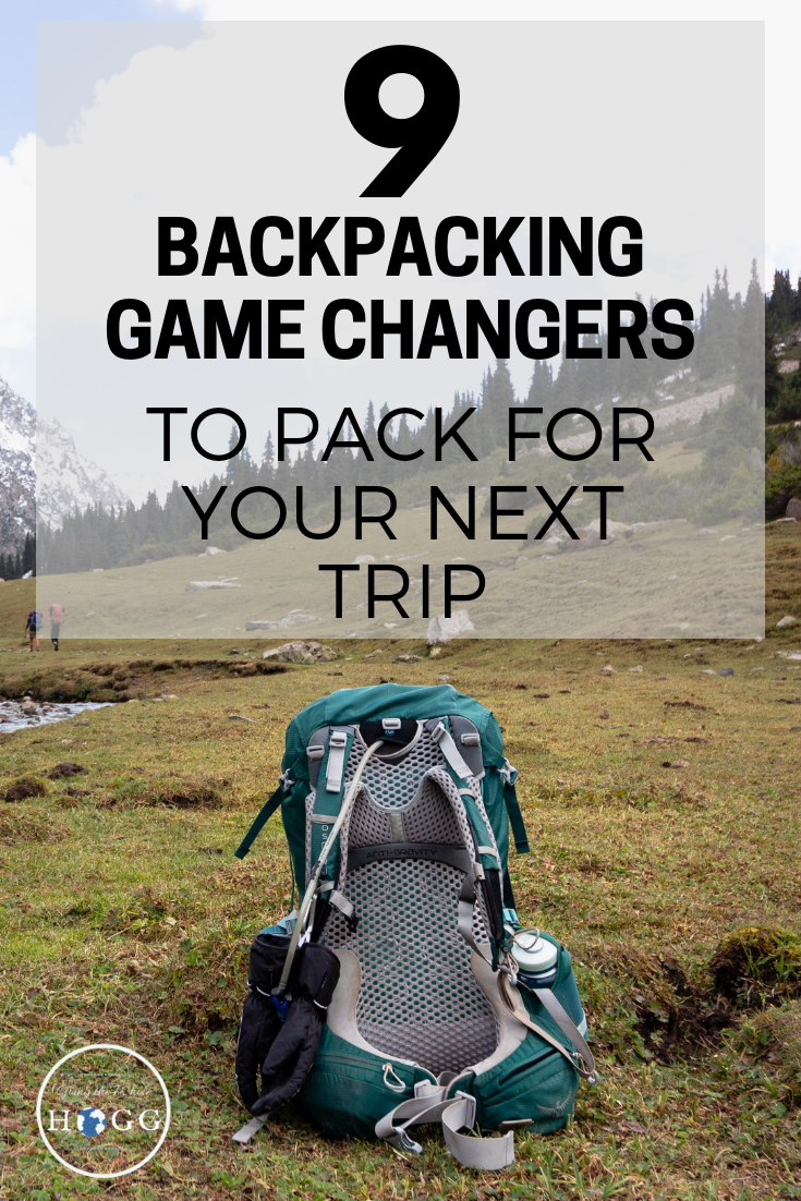 Make your backpacking life easier and minimise your impact on the environment around you with these 9 backpacking game changers. Travel essentials to pack whether you\'re heading off into the wild or exploring a bustling city. A packing list and tips from long time travellers who\'ve personally tested out all the gear to find the best there is. via @goingthewholehogg #backpacking #travel #packinglist
