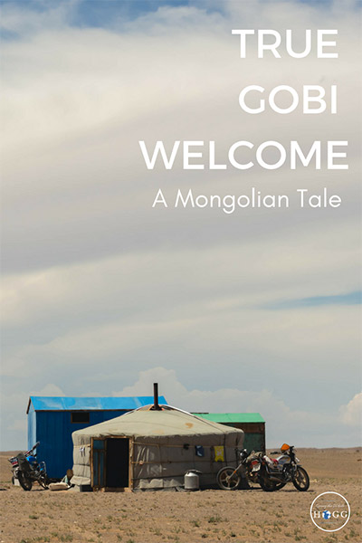 A True Gobi Welcome: