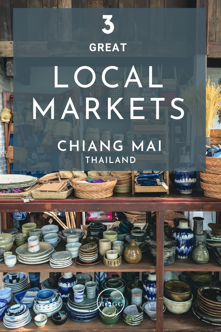 Looking for authentic local markets around Chiang Mai? We found three of the best, full of great food, clothes and traditional handicrafts. Away from the usual tourist hotspots, these three great markets all offer a unique Northern Thai experience. #Thailand #ChiangMai #markets #thaifood