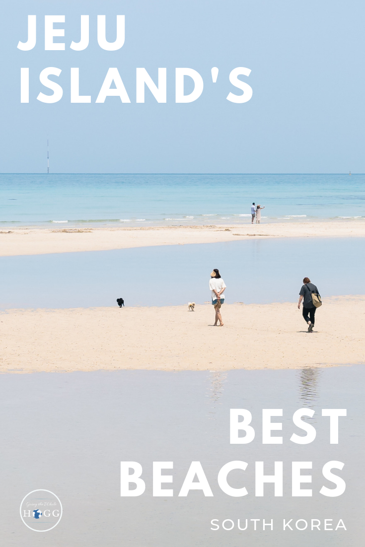 The definitive list of best beaches on Jeju Island, South Korea. Having spent a month walking the circumference of the island, we\'ve seen every stretch of sand there is. From idyllic spots ideal for sunning yourself, to the best surf beaches and dramatic coastlines, here\'s the very best of Jeju\'s beaches. #Korea #Jeju #AsiaTravel