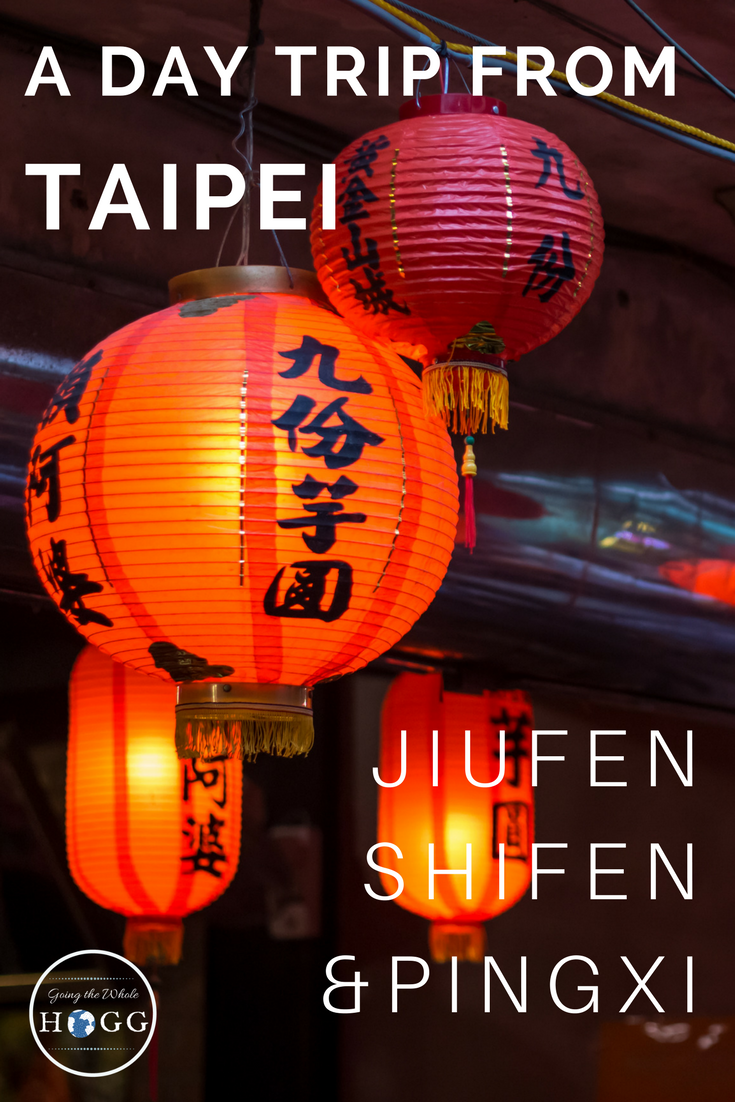 An Independent Day Trip From Taipei: Jiufen, Shifen & Pingxi. A complete guide, video & map for a self-organised train trip to visit three charming towns northeast of Taipei. Scenic, full of old-time character and with plenty of delicious Taiwanese street food to devour along the way, this easy day trip is ideal for those tight on time but keen to see more than just the big city. | Taiwan Travel | Things to do in Taiwan | Taiwan Food | East Asia #Taiwan #Taipei