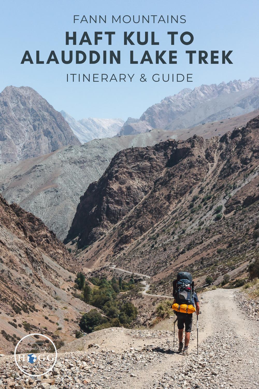 Trekking in Tajikistan\'s Fann Mountains: Haft Kul (7 Lakes) to Alauddin Lake