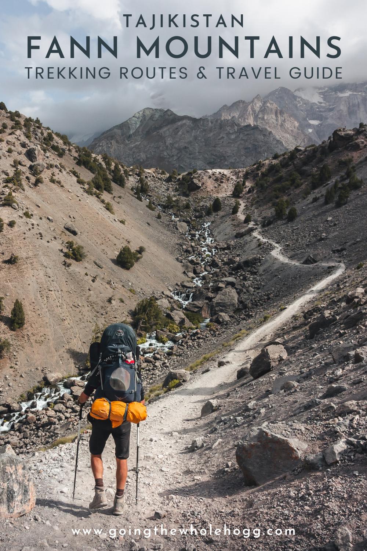 Fann Mountains Trekking Routes & Travel Guide