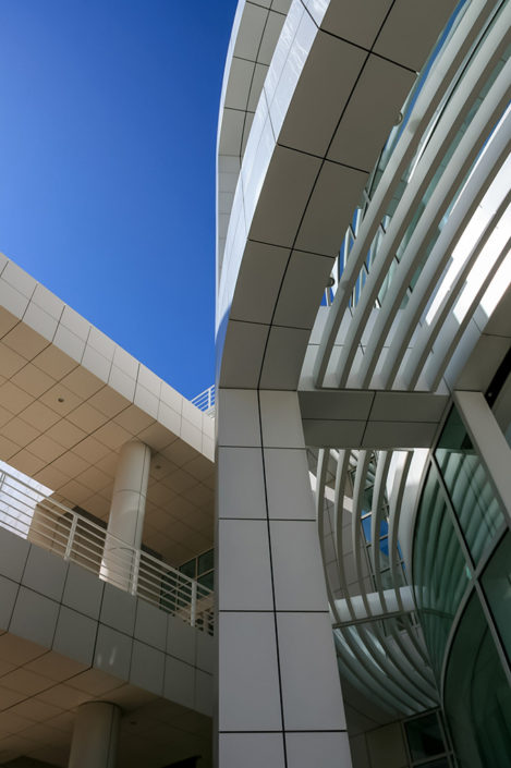 A photographic journey: Detail of The Getty Centre Building, Los Angeles, USA