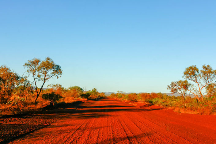 Western Australia Road Trip: Through the campervan windscreen - driving through the Pilbara on Christmas Eve