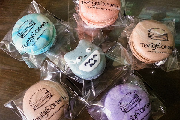 The most delicious macarons in Tongyeong